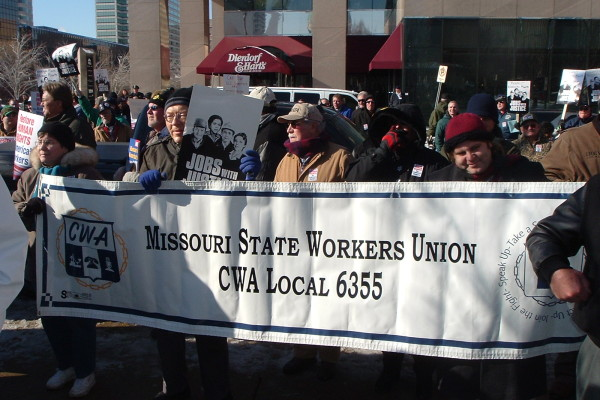 worker rights rally